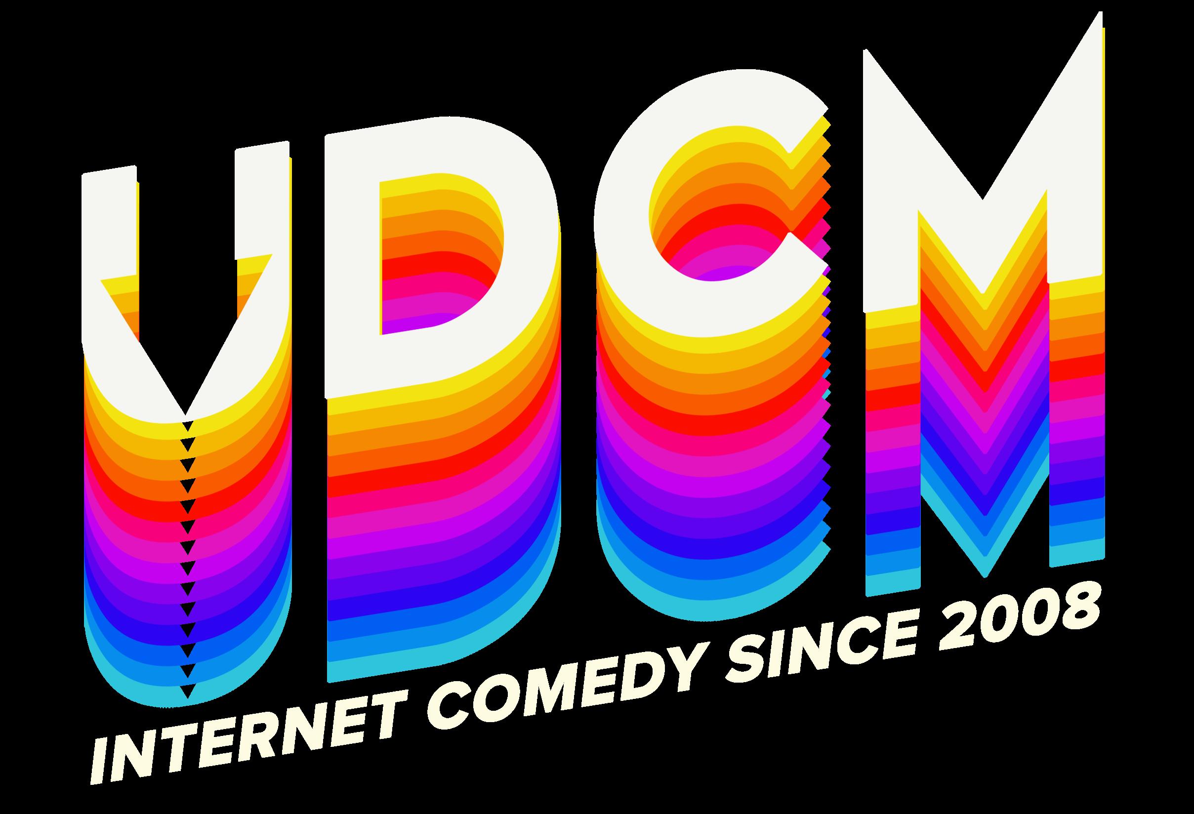 UDCM Comedy Logo